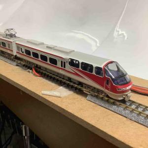 【鉄道模型 Nゲージ】 入線! グリーンマックス 30452 名鉄 1000系 パノラマsuper 全車特別車 基本4両編成セット(動力付き)