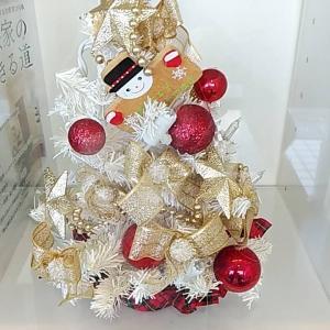 プチクリスマスツリー 置きました
