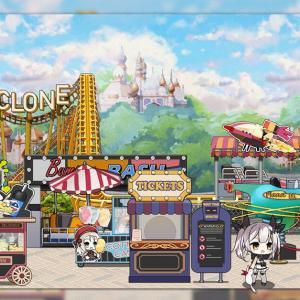 【ドルフロ】遊園地がテーマの家具セット、☆5家具「テーマパーク」