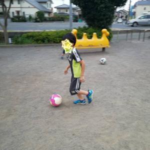 サッカー少年な長男