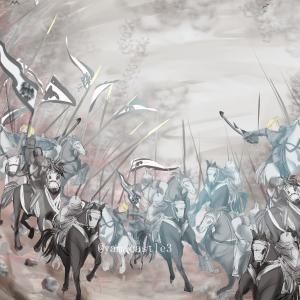 みんなでイラスト本を作ります/戦場の絵を描いてみる