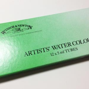 W&N透明水彩絵の具を実際に使ってみた感想を紹介します