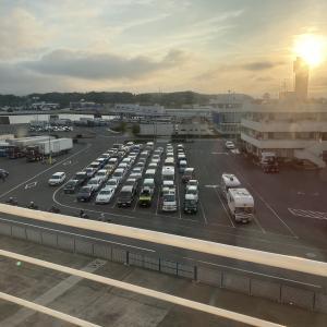 2021年北海道車中泊の旅 1日目 出発 さんふらわあ