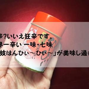 激辛?いいえ狂辛です。世界一辛い 一味・七味「舞妓はんひぃ~ひぃ~」が美味し過ぎる!
