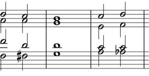 【はじめての和声法】01.和声法への第一歩