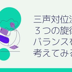 【はじめての対位法】10.三声対位法で3つの旋律のバランスを考えてみる