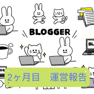 【雑記ブログ運営報告】2ヶ月目のPV数(アクセス)と収益