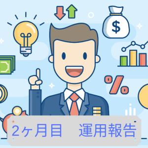 【ほったらかし投資】資産運用2ヶ月目の報告【先月比-35万】