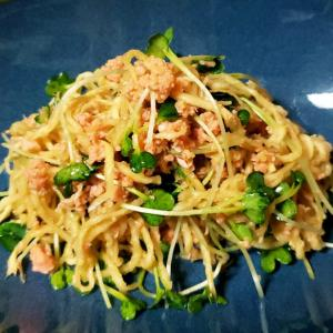 栄養がギュッと凝縮!切り干し大根と鮭フレークのサラダ