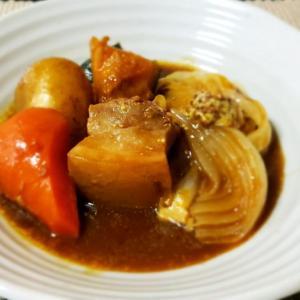 炊飯器で作る豚バラと野菜のデミグラスソース煮込み