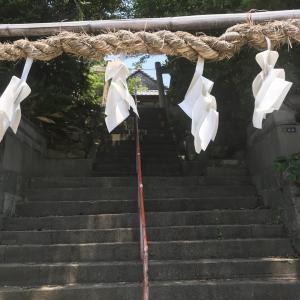 兵庫県明石市にある、熊野皇大神社へお参りしました