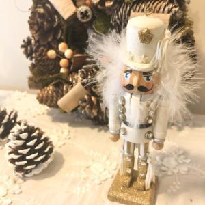 ホワイトクリスマスのインテリア♪