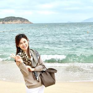 長州島でゆったり♪スカーフコーデ♪