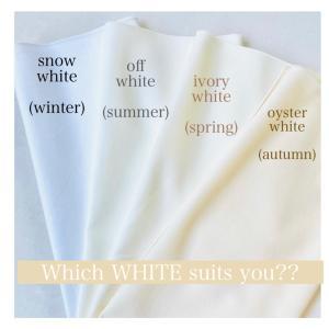 似合う白は何色??