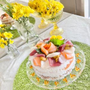 子供の日の寿司ケーキ♪