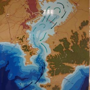 三浦半島と東京湾