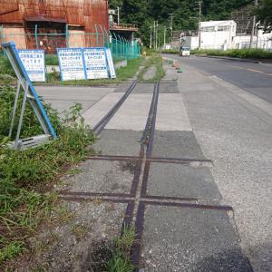 田浦の引き込み線