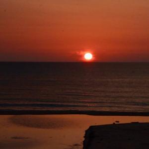夕陽 マナティ 波子海岸 江津市 浜田のアラーキー