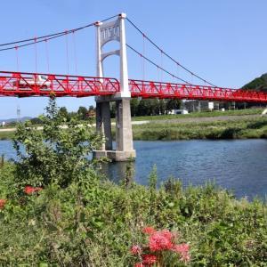 吊り橋 須子町 益田市 浜田のアラーキー