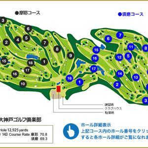 いつものメンツと半年ぶりに大神戸ゴルフ倶楽部でゴルフラウンドしてきたよ!