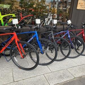2020年9月1日時点でのまるいち丁田店のクロスバイク在庫状況のお知らせ。