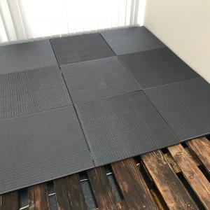 小上がりをDIYで手軽に作る1 パレットとニトリ畳で簡単な小上がり