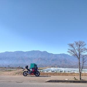昇仙峡から瑞牆山(みずがきやま)まで