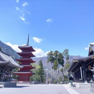 冨士御室浅間神社と身延山久遠寺ツーリング