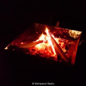 友人と山梨県志村の椿荘オートキャンプ場に行ってきた。