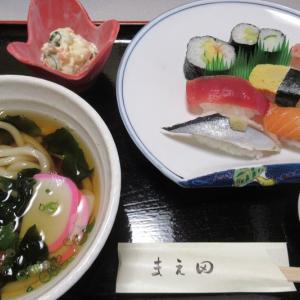新宮市・寿司和食の店「まえ田」でランチ