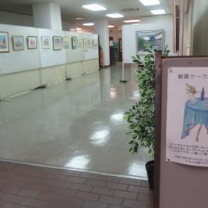 尾鷲市・中央公民館で「絵画サークル作品展」