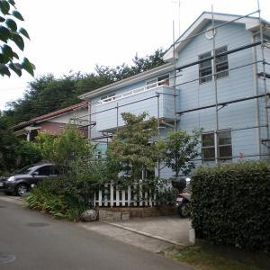 POPPOのマイホーム No.132 外壁再塗装の記録 足場架設
