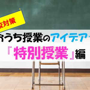 おうちで授業『特別授業』編!父親でも出来る小学生の家庭学習とは?【休校対策】