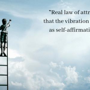 自己肯定感が上がると波動も上がる「本当の引き寄せの法則」