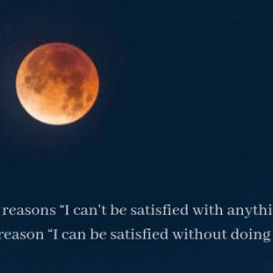 何をしても満たされない「2つの理由」〜何もしなくても満たされる「たった1つの理由」