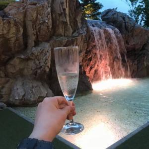 滝を見ながら飲める!ホテル日航高知のビアガーデンで美味しく楽しく飲んできた!