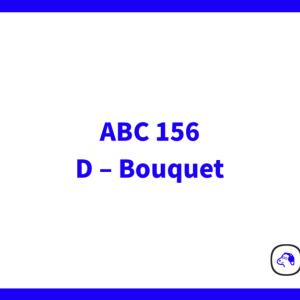 【Python3】 AtCoder Beginner Contest 156 D – Bouquet