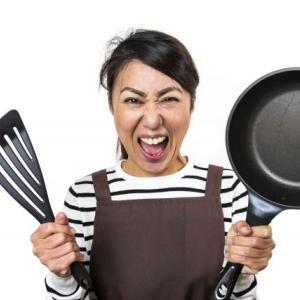 料理なんて大嫌い!もう土日には作らない!たまには夫にやってほしい