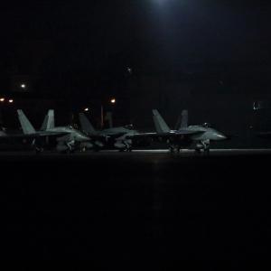 メイス(Royal Maces F/A-18E)✕5機 ~2020.1.11横田基地~