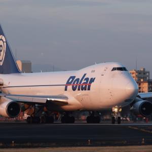 朝活B744(Polar Air Cargo GTI8053) ~2020.3.1横田基地~