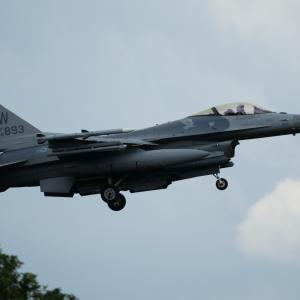 F-16CM(ファイティングファルコン)WW✕4 ~2020.8.1横田基地~