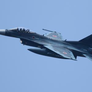 F-2✕4機(河野防衛大臣搭乗?)3SQ ~2020.8.5航空自衛隊百里基地~