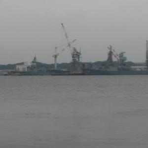 護衛艦きりしま(DDG-174)他 ~2020.9.23JMU磯子工場~