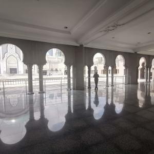 """""""モスクを巡ろう""""①Wilayah Mosque(連邦直轄領モスク)後編【週末弾丸一人旅マレーシア編-9】"""