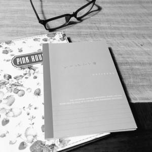 眠れないので、いいことノートなんて読み返し、