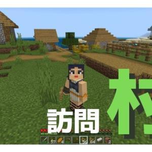 【マイクラ】Part5「はじめての村訪問」