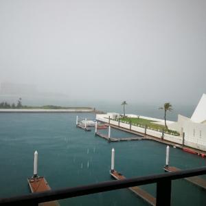 【台風17号接近中】シェラトン沖縄滞在3日目も雨