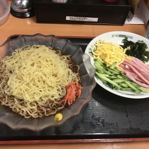 【ラーメン】今日は弁当お休み。黒酢の冷やし中華、550円
