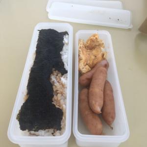 【自炊】珍しく煮物じゃないお弁当。