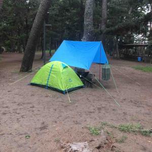 大洗キャンプ場に来ました。